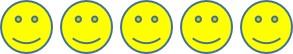 5 Smileys
