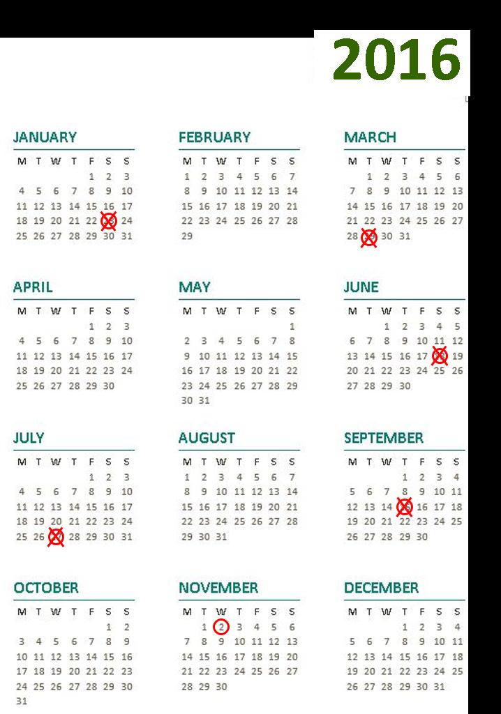 Release Calendar - Final